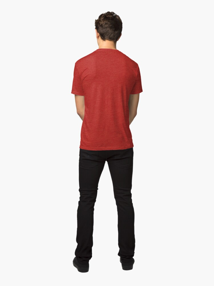 Alternate view of Right Now, All I Want To Do Is Play Baseball Tri-blend T-Shirt