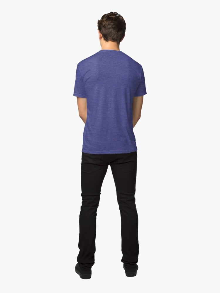 Alternate view of Lines 3 Tri-blend T-Shirt