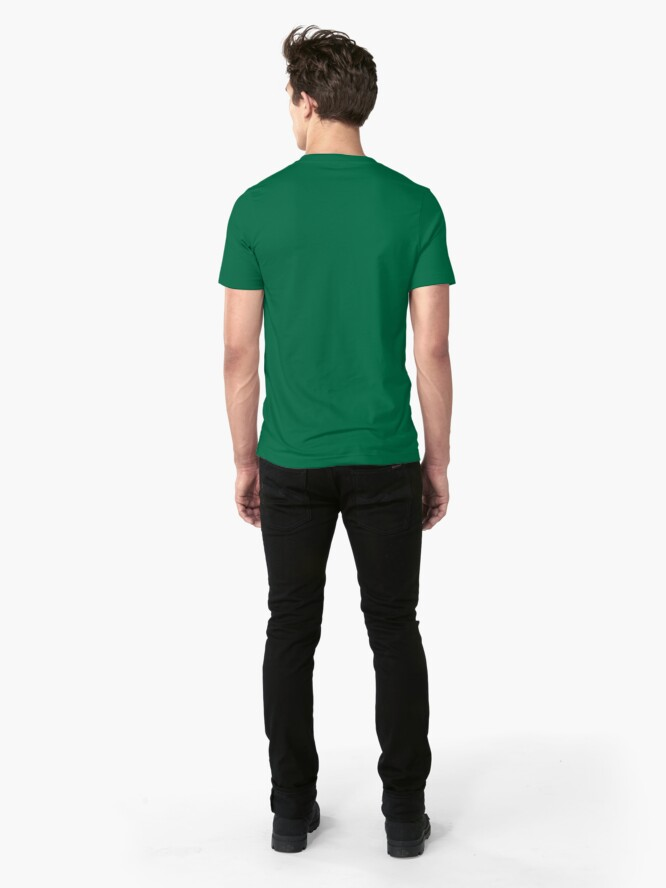 Alternate view of Fragmental Tree /// Slim Fit T-Shirt
