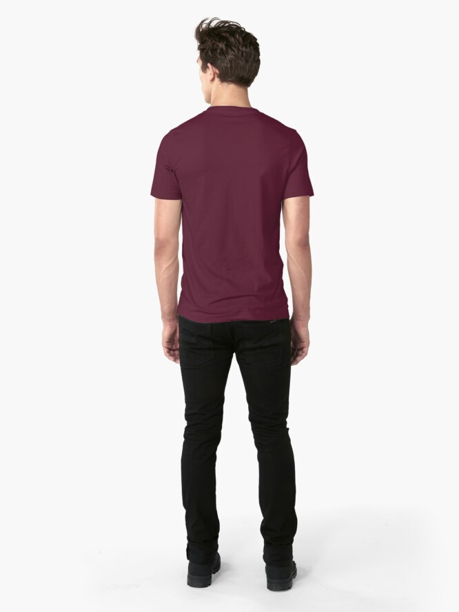 Alternate view of NDVH EU UK Passport Slim Fit T-Shirt