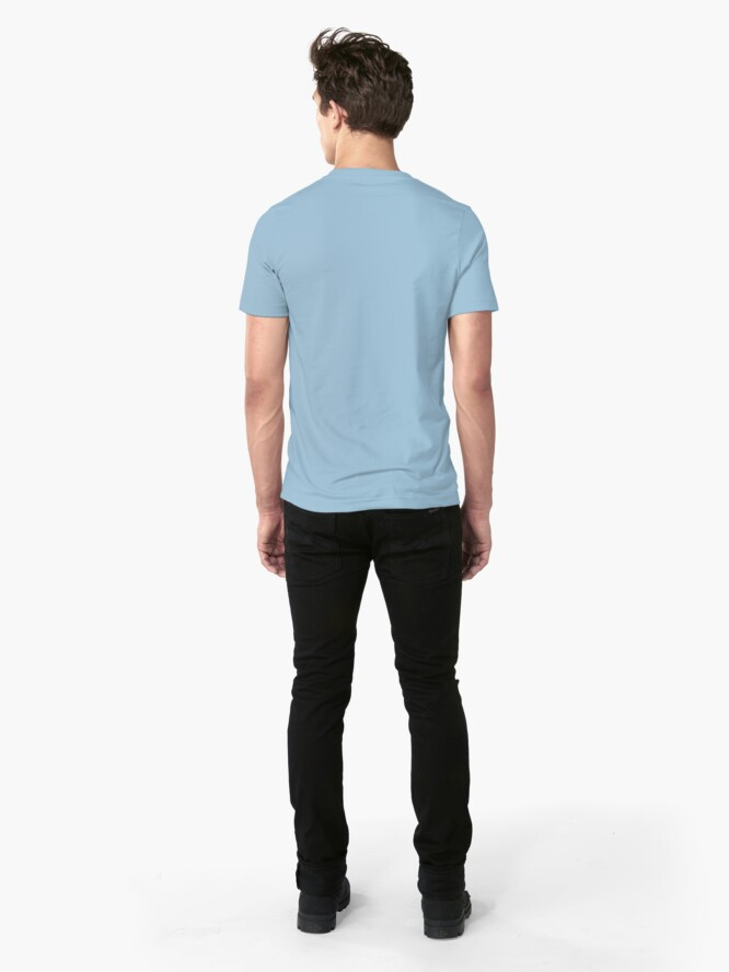 Alternate view of Visit Louies Island Nightclub Slim Fit T-Shirt