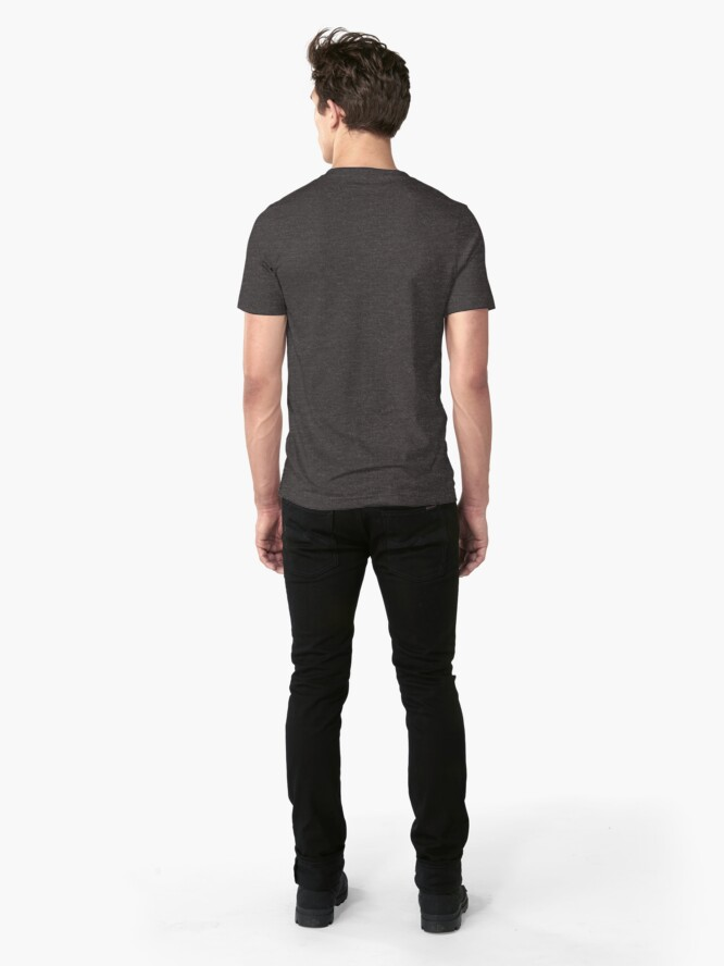 Alternate view of Needs: coffee, coffee, coffee. Slim Fit T-Shirt