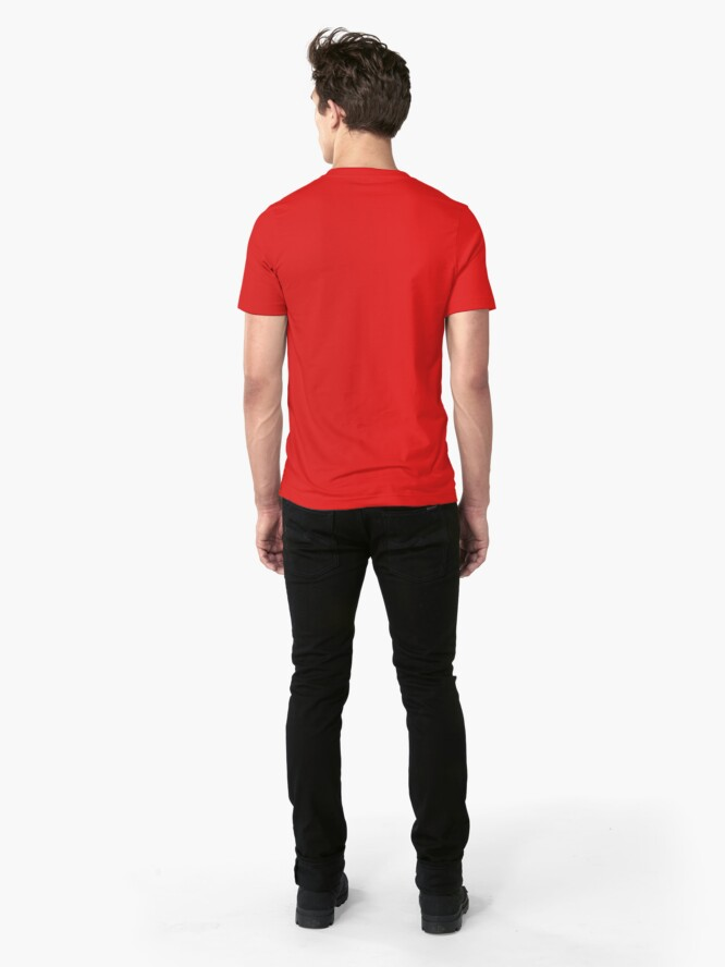 Alternate view of TA20 JDM Classic - Red Slim Fit T-Shirt