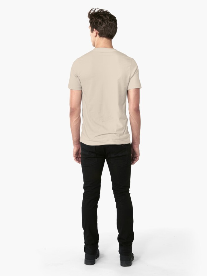 Alternate view of Art Deco Marble Tiles in Soft Pastels Slim Fit T-Shirt