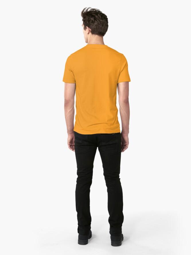 Alternate view of Werewolves: United We Change Slim Fit T-Shirt