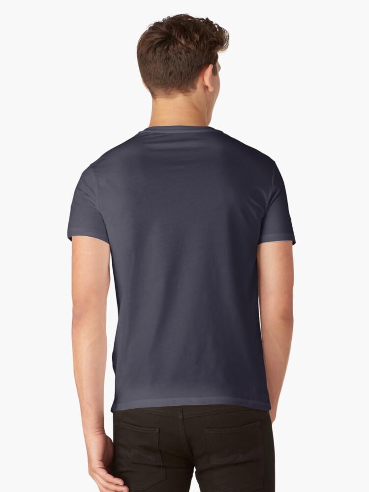Alternate view of life as a writer V-Neck T-Shirt