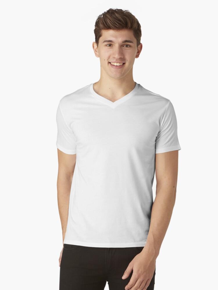 Alternate view of Hoiss Point - Nootka Sound - Salmon Logo V-Neck T-Shirt