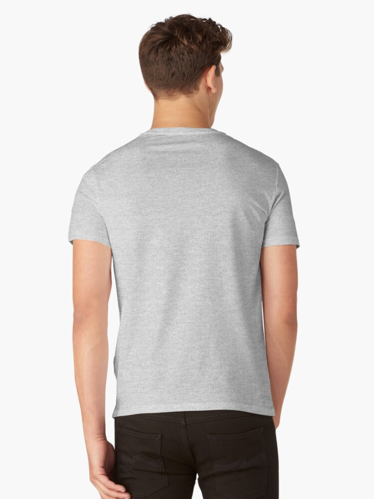 Alternate view of Abstract Cat V-Neck T-Shirt