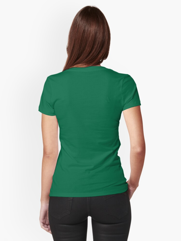 T-shirt moulant ''Green Forest' : autre vue