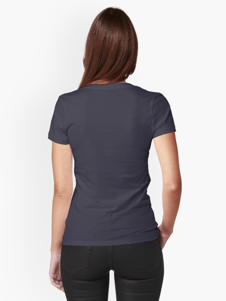 Alternate view of Hike or bike Fitted T-Shirt