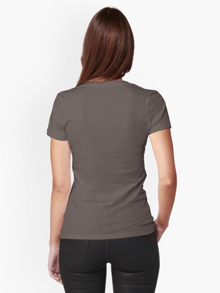 Vista alternativa de Camiseta entallada Madriguera del conejo