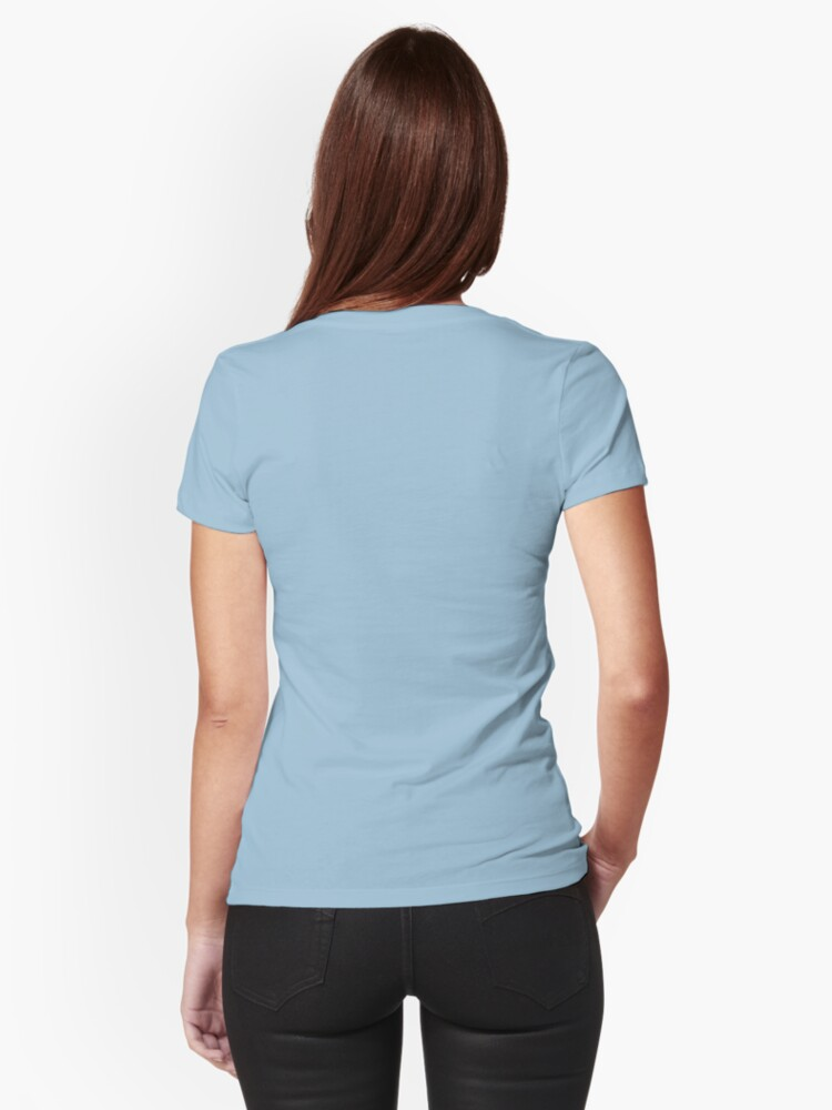 Alternate view of Little Blossom Girl Fitted T-Shirt