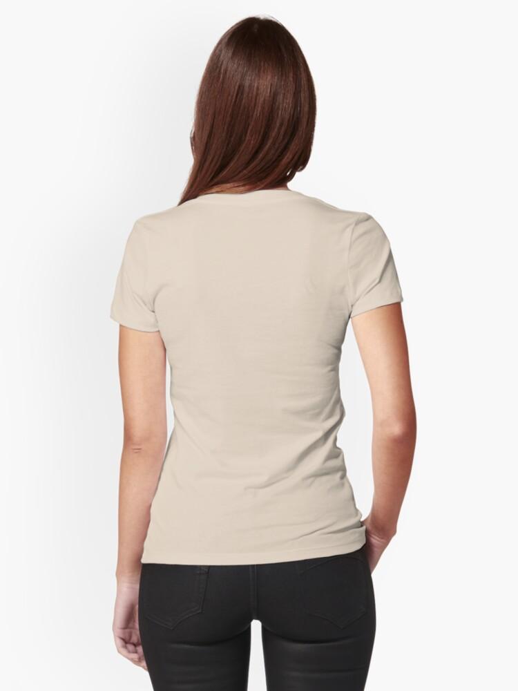 Vista alternativa de Camiseta entallada Z-Whacker & Lucille. Sepia