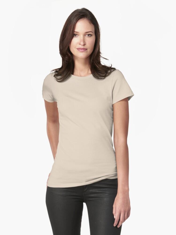 Alternate view of Natasha Hayes Fitted T-Shirt