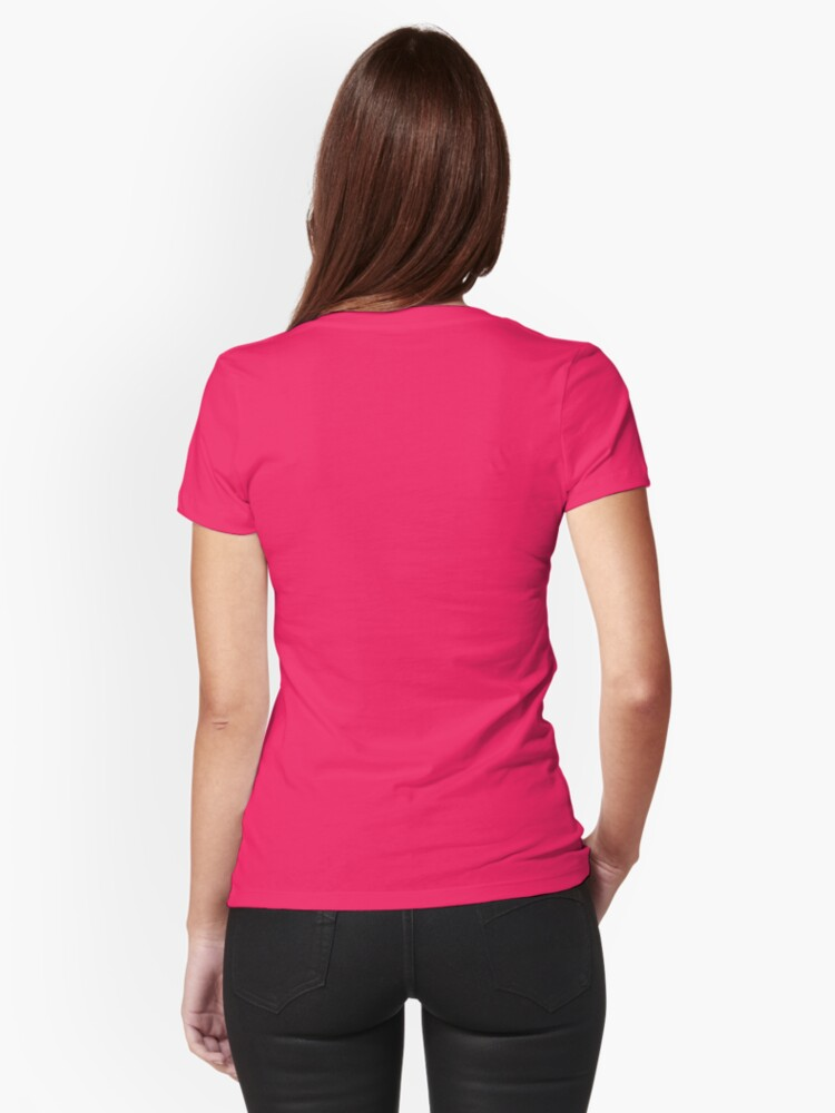 Alternate view of This Girl Loves Black Friday Fitted T-Shirt