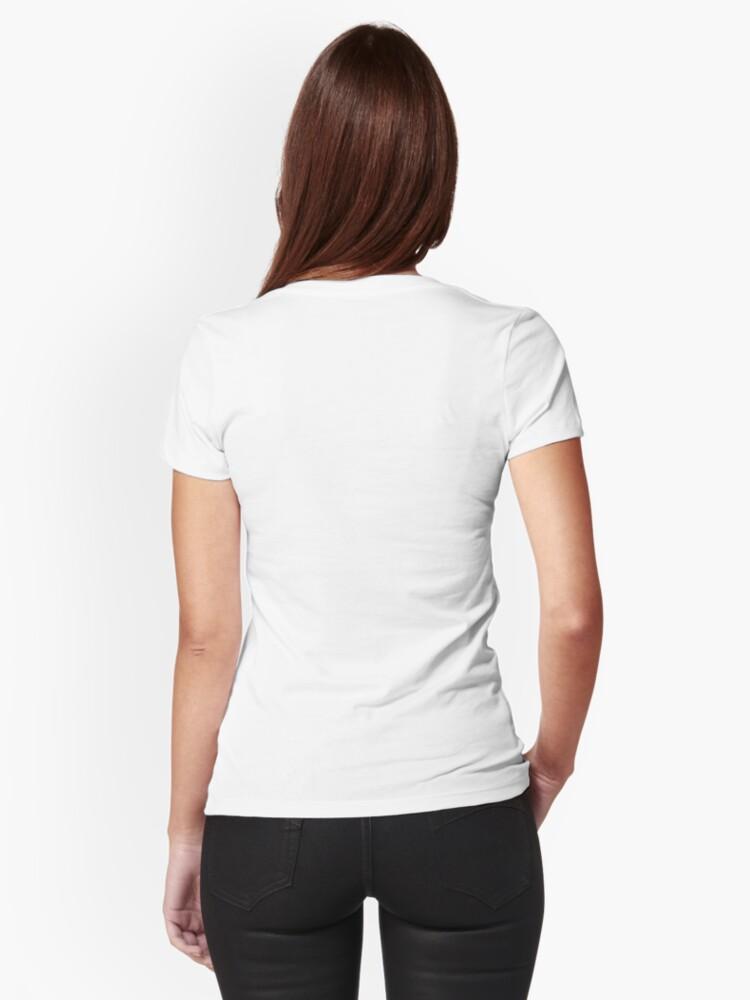 Alternate view of I Love Soho Official Merchandise @ilovesoholondon Fitted T-Shirt