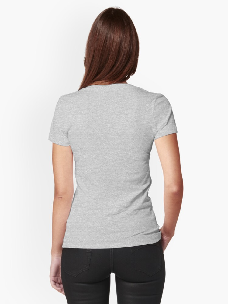 Alternate view of Nursing School Survivor Fitted T-Shirt