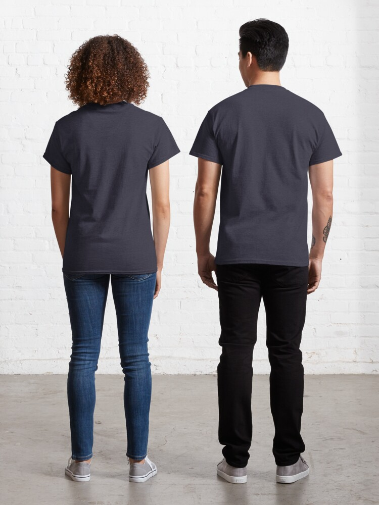 Alternate view of Seashells Pattern Classic T-Shirt