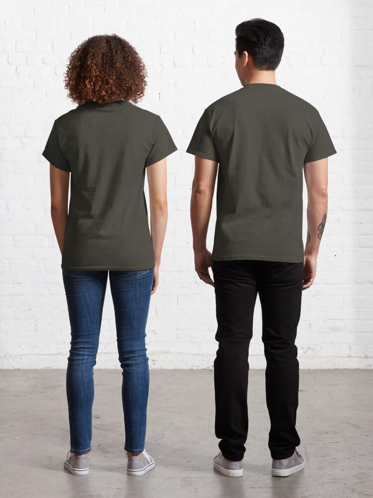 Alternate view of D20 Green Dragon Classic T-Shirt