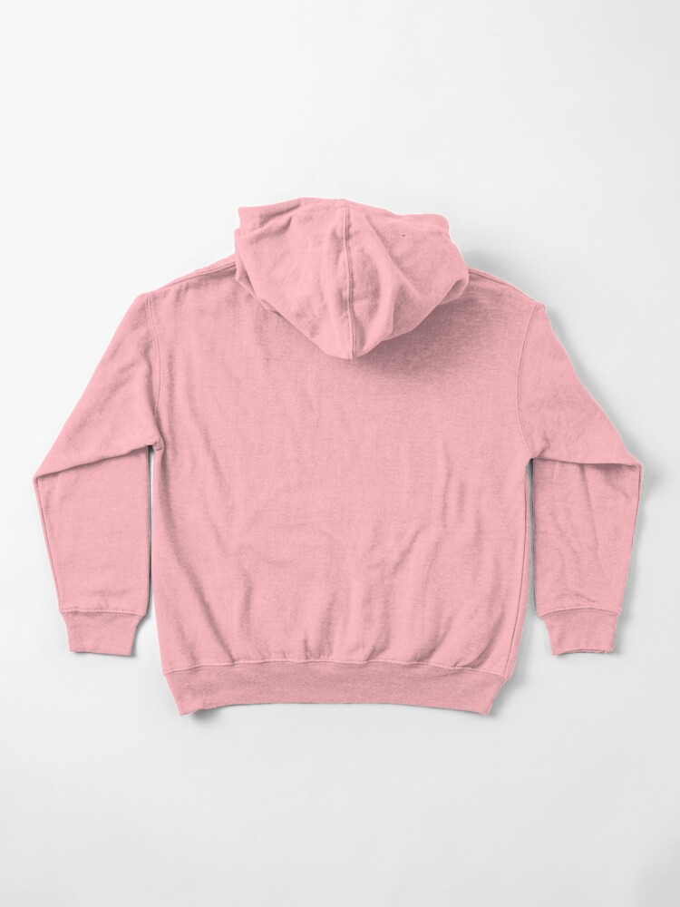 Alternate view of Abstract Cat Kids Pullover Hoodie