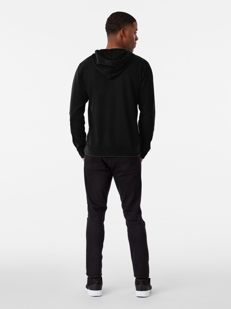 Alternate view of Button Me Up Lightweight Hoodie