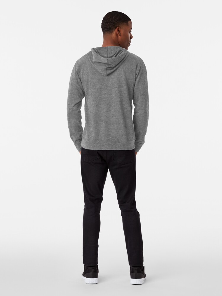 Alternate view of The velocity of an object is the rate of change of its position with respect to an inertial frame of reference Lightweight Hoodie