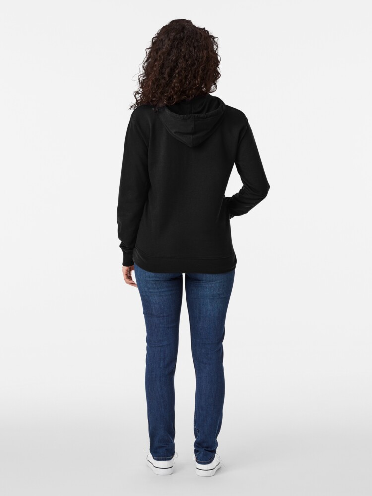 Alternate view of Brooklyn 99 Classic Black Background Lightweight Hoodie