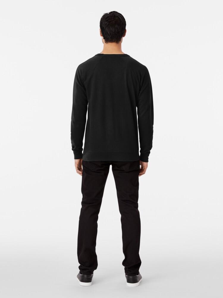 Alternate view of IHHN - In His Holy Name Lightweight Sweatshirt