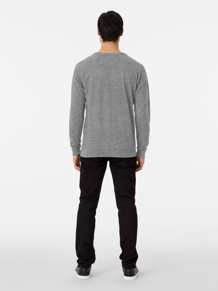 Alternate view of Geometric Pattern: Herringbone: Winter Lightweight Sweatshirt