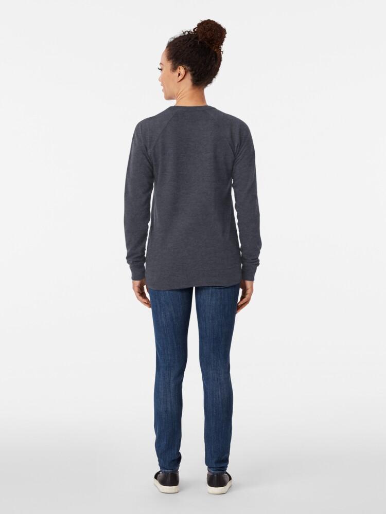 Alternate view of Attitude - Black Lightweight Sweatshirt