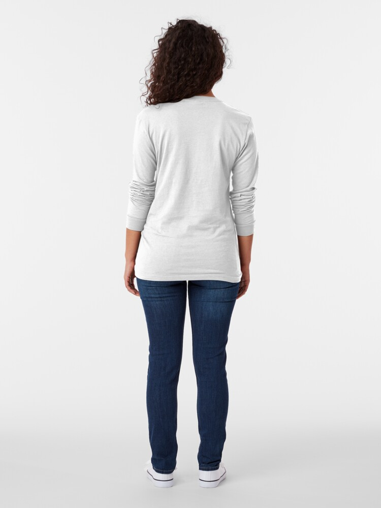 Alternate view of Antique Tulip Long Sleeve T-Shirt