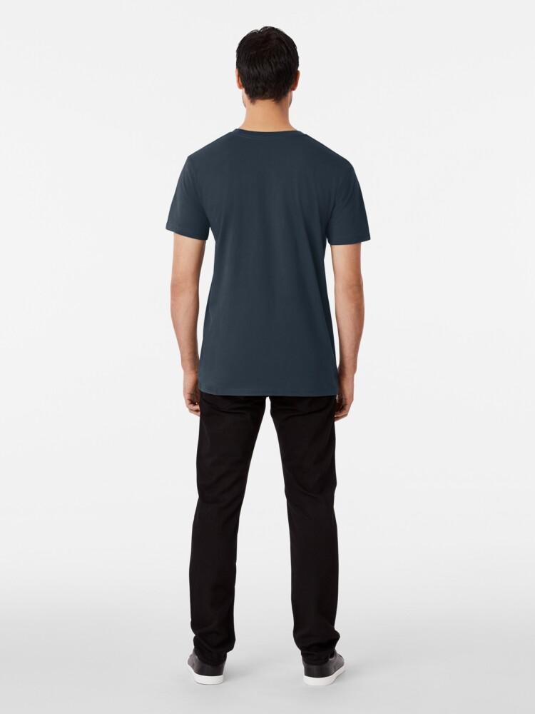Alternate view of Geometric Mountains Premium T-Shirt
