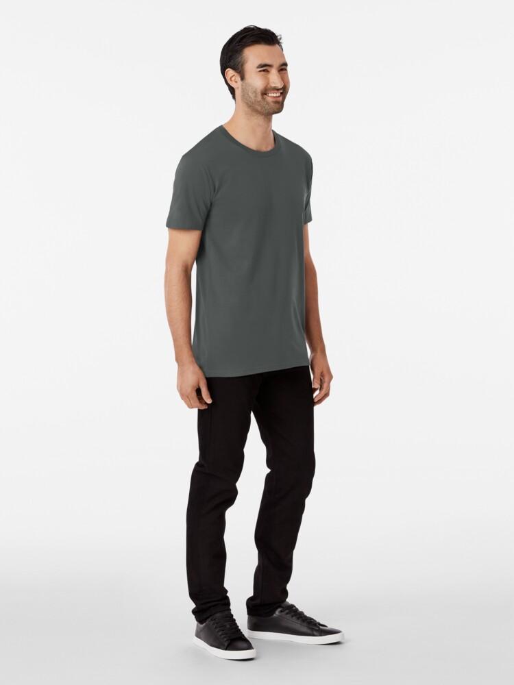 T-shirt premium ''LE POUVOIR APPARTIENT AU PEUPLE!': autre vue