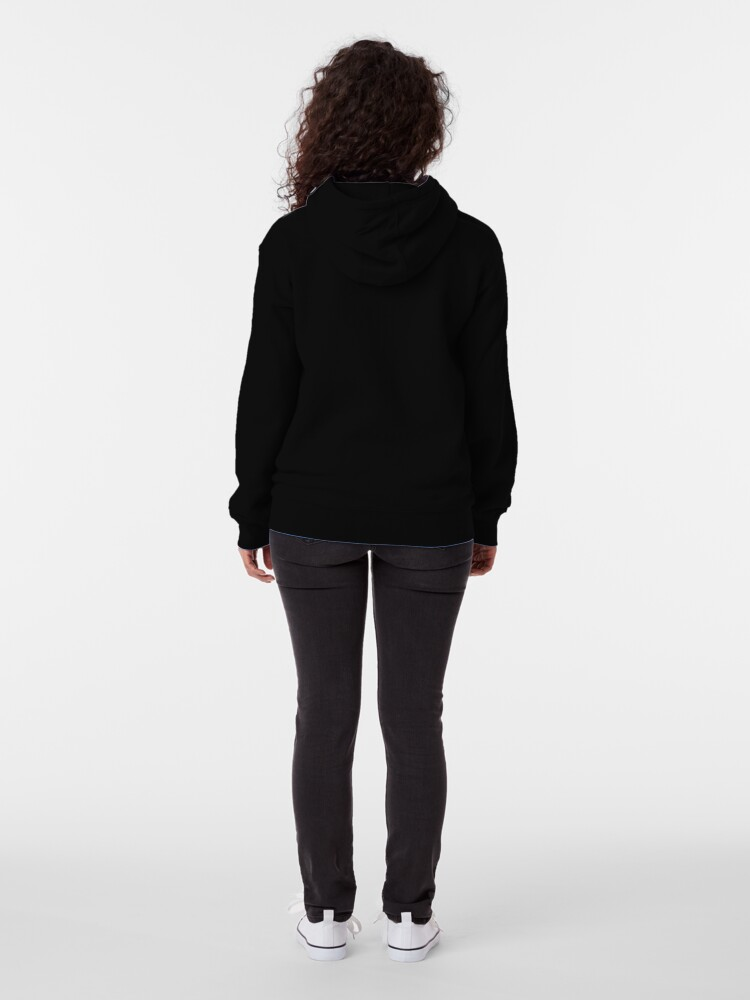 Alternate view of Individual Balance Series Zipped Hoodie