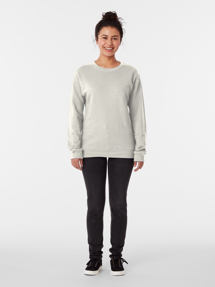 Alternate view of Fonkey Donkey - Light Blue Pullover Sweatshirt