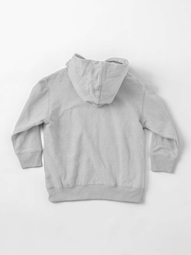 Alternate view of Trouble Maker - dark Toddler Pullover Hoodie