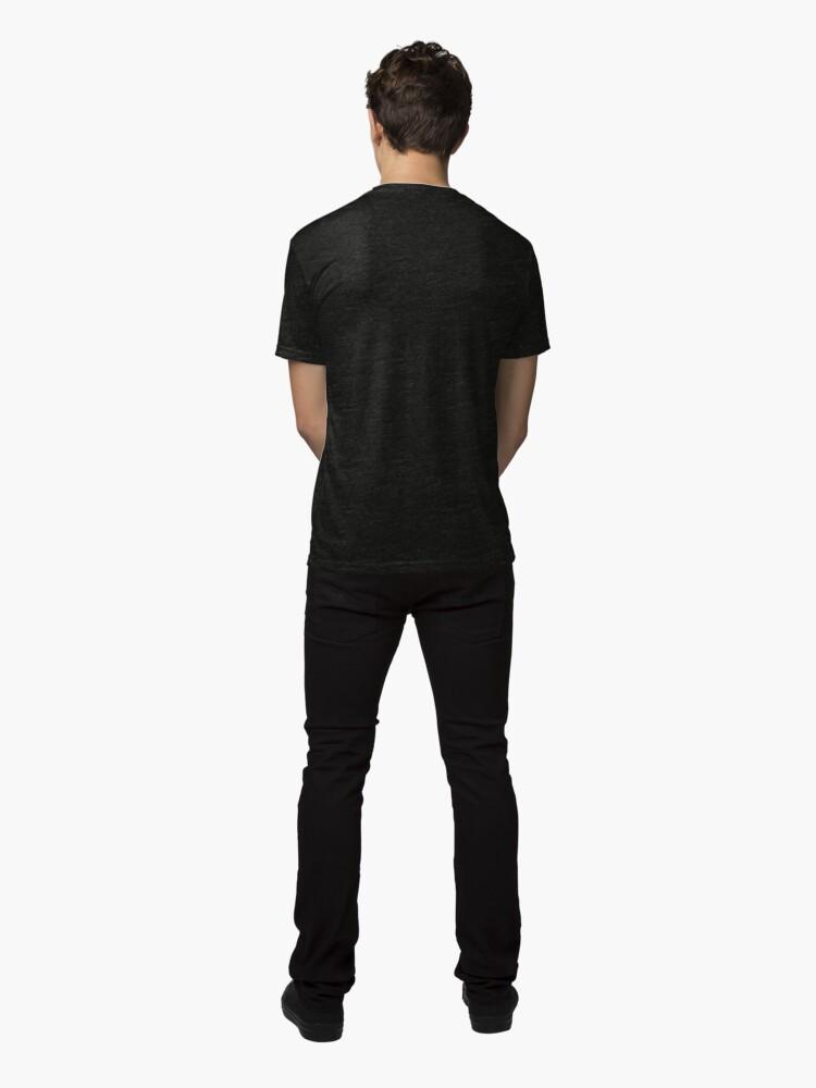 Alternate view of Infernal Guinea Pig Tri-blend T-Shirt