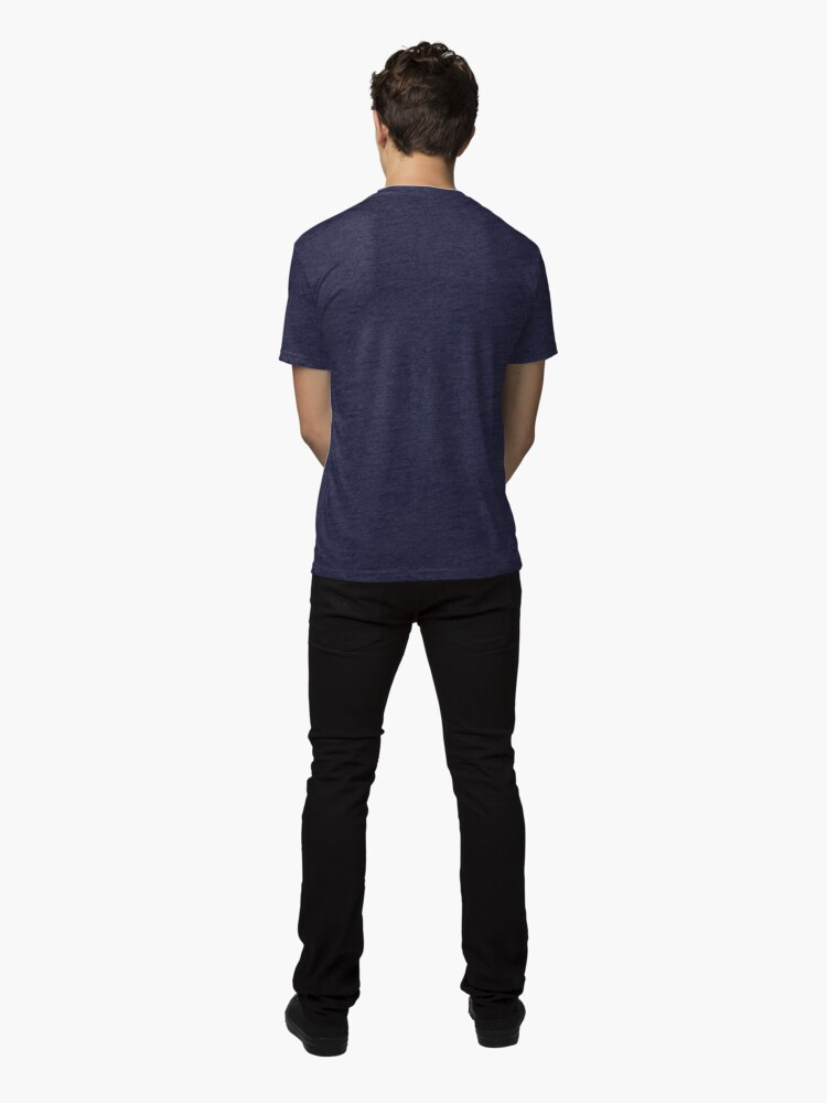 Alternate view of Fish2Duck Tri-blend T-Shirt