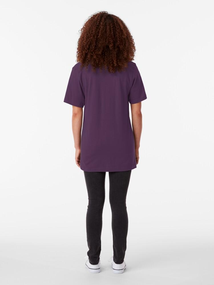 Alternate view of Galuna Moon Drip Slim Fit T-Shirt