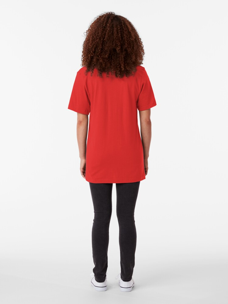 Alternate view of Red Slim Fit T-Shirt