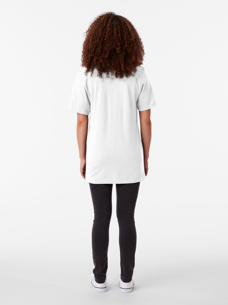 Alternate view of Faceless Girl in coat Slim Fit T-Shirt