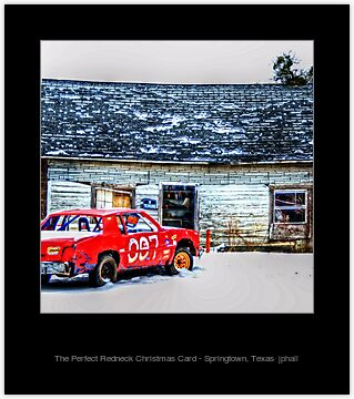 The Perfect Redneck Christmas Card Springtown Texas Greeting